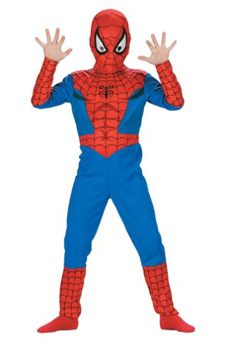 Spider-Man Child XL size 10H-12H Super Hero Costume ()