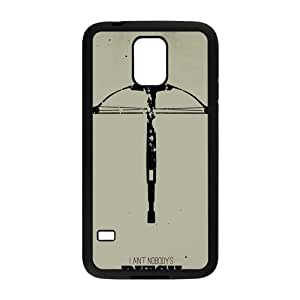 LINGH The Walking Dead Minimalist Posters Cell Phone Case for Samsung Galaxy S5