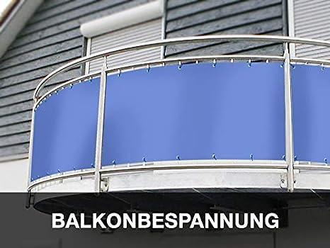 Sichtschutzplane,Windschutz Balkonverkleidung PVC 70 cm hoch,Balkonumspannung