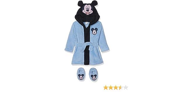Disney Mickey Mouse Head, Bata para Bebés, Azul (Blue 14-4121TC), 12 Meses: Amazon.es: Ropa y accesorios