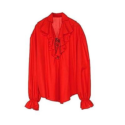 Widmann Cs924183 - Chemise Epoque Dame Rouge Taille M