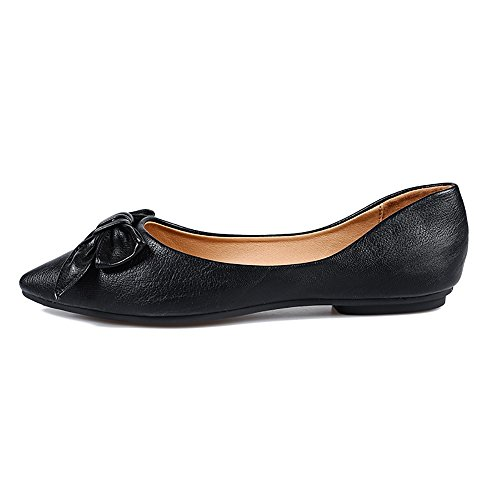 Buy womens black dress shoes size 9.5