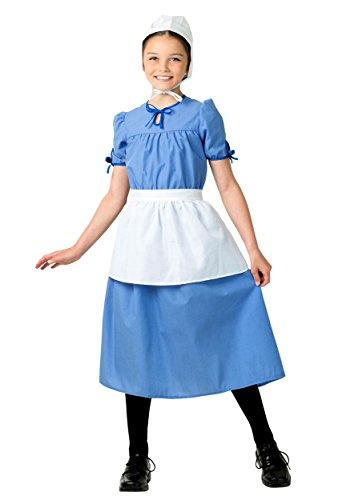 Amish Woman Costume Halloween (Amish Prairie Girl Costume Small (6))