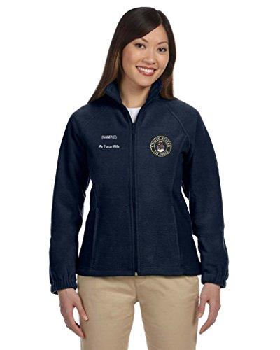 Navy Embroidered Zip - 9