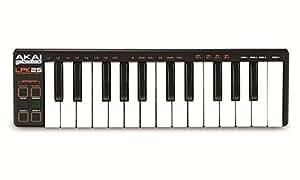 AKAI Professional LPK25 - Teclado controlador USB MIDI de 25 teclas para cualquier DAW e instrumento virtual, Mac y PC