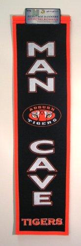 Auburn Tigers Wool (NCAA Auburn Tigers Man Cave Banner)