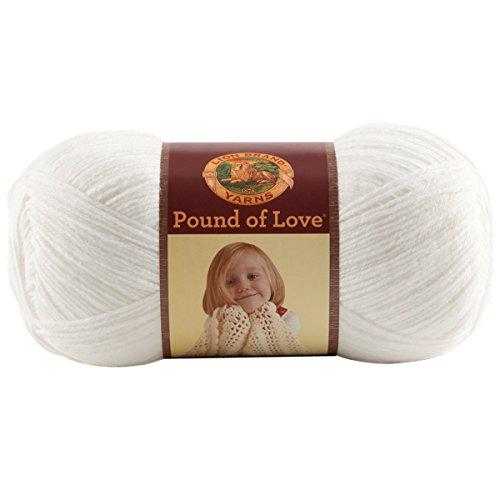 (Lion Brand Yarn Hometown Yarn, White)