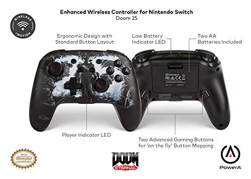 PowerA Enhanced Wireless Controller for Nintendo Switch - Doom 25