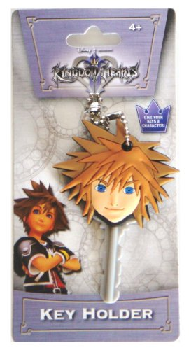 (Disney Kingdom Hearts Sora Soft Touch PVC Key Holder)