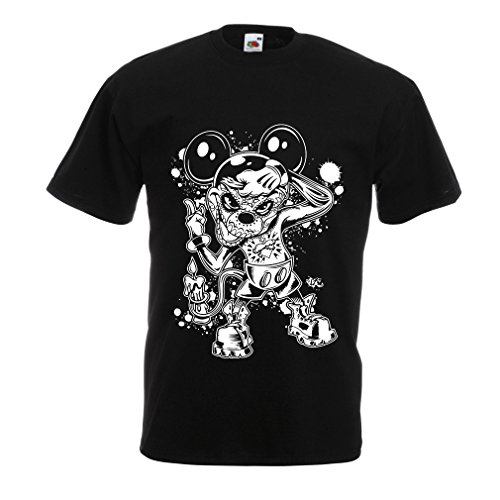 Homemade Artist Halloween Costume (T shirts for men a mouse with an amazing Halloween costume (X-Large Black Multi Color))