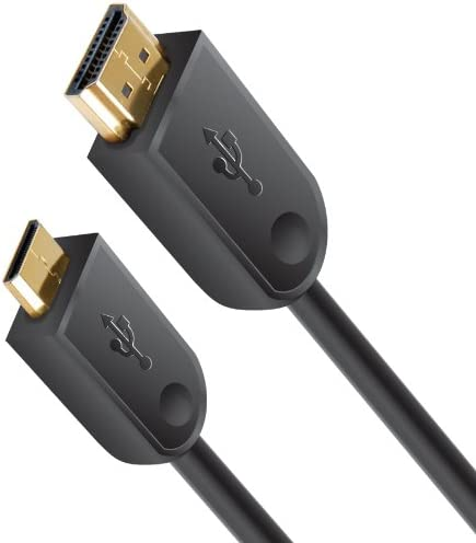 Xit XTMHDMI High Speed Gold Plated Mini HDMI Cable Black