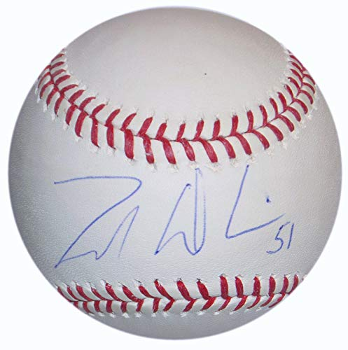 (Zak Deossie Signed Oml Selig Baseball New York Giants Football Ny Coa - Steiner Sports Certified - NFL Autographed Miscellaneous Items)