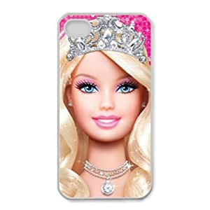 iphone4 4s Phone Case White Barbie ES3TY7837450
