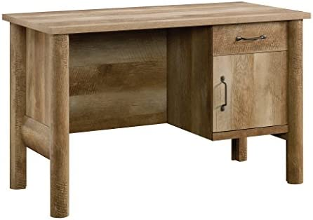 Sauder Boone Mountain Desk, Craftsman Oak finish