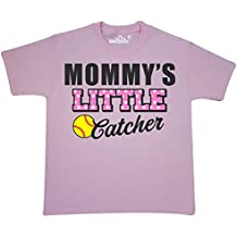 Inktastic - Mommys Little Catcher Softball Youth T-Shirt