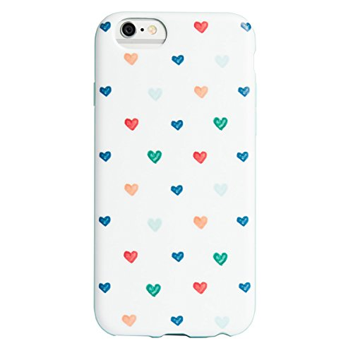 Agent 18 Flexshield Big Hand Drawn Heart Case for iPhone (Drawn Hearts)