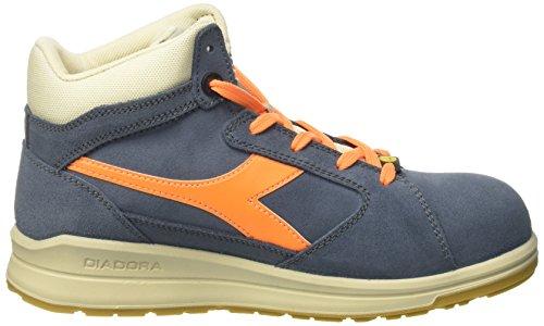 ESD Denim Bleu Chaussures Travail S3 arancio Jump Fla Sbiadito de Diadora Adulte Blu Mixte Hi nxZfqA