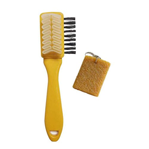 Marry&Gold Large Suede & Nubuck Brush, 8 Inches long, (free suede eraser Included)