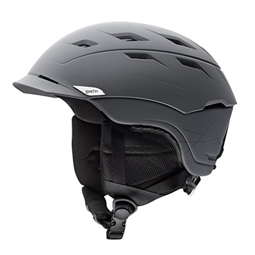Smith Optics Unisex Adult Variance Snow Sports Helmet - Matte Charcoal Small (51-55CM) -