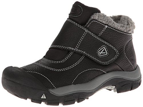 [KEEN Kootenay Winter Boot (Little Kid/Big Kid), Black/Neutral Gray, 1 M US Little Kid] (Boots For Boys)