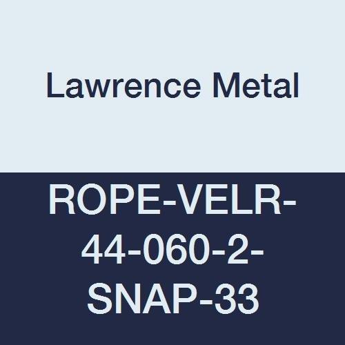 Lawrence metal ROPE-VELR-44-050-2-SNAP-1P Rope Velour 5 Purple 5/' Tensator