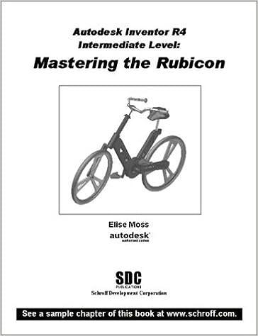 Autodesk Inventor R4 Intermediate Level: Mastering the Rubicon: Amazon.es: Moss, Elise: Libros en idiomas extranjeros
