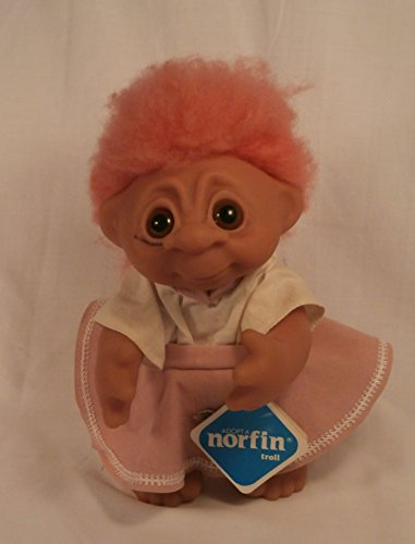 Vintage Genuine Original Norfin Danish Troll Doll