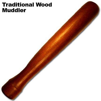 Drink Muddler: Classic Wood