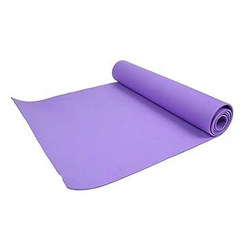 HYTGFR 4Mm Thick Comfort Foam Yoga Mat para Ejercicio, Yoga ...