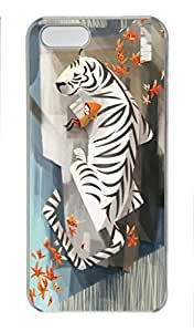 iCustomonline Case for iPhone 5S PC, Illustration Anima Stylish Durable Case for iPhone 5S PC