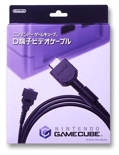 Nintendo GameCube-only terminal D video cable