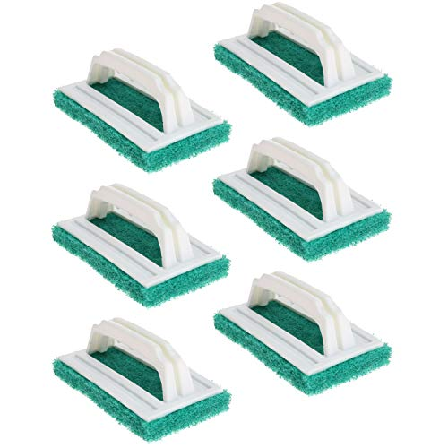 - Handi-Ware Scrubber Brush - Value Packed - Bathroom & Kitchen Scrubber with Handle - Tough on Grime - Great for The BBQ - by Unity-Frankford (6)