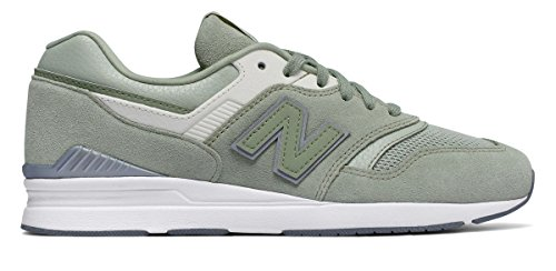 走るぞっとするような交通渋滞(ニューバランス) New Balance 靴?シューズ レディースライフスタイル Leather 697 Silver Mint シルバー ミント US 11 (28cm)