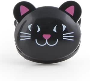 Kikkerland Cat Bag Clips, Set of 6