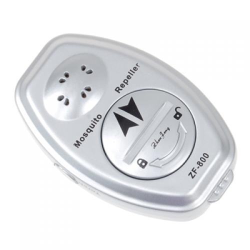 Ultrasonic Electronic Mosquito Repeller Killer with Strap / Great for Fishing, Camping, Hiking, Jogging, Outing, or Simply Enjoying Your Patio Day or Evening