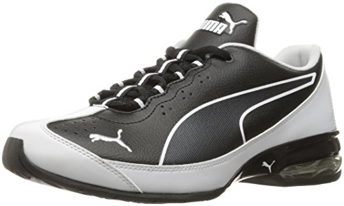 PUMA Men's Reverb Running Shoe, Puma Black/Pumawhite, 11 M US