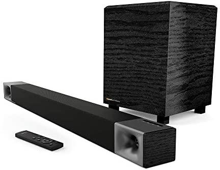 Klipsch Cinema 400 Sound Bar + 8Inch Wi-fi Subwoofer with HDMIARC
