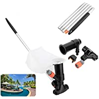 Pool Jet Vacuum Cleaner, ANNCARY Swimming Pool Pond Fountain Underwater Cleaner, Portable Cleaning Tool for Above Ground…