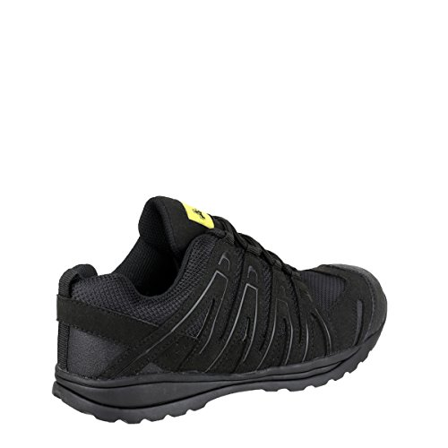 Amblers Safety Mens FS40C Safety Trainers Black Black