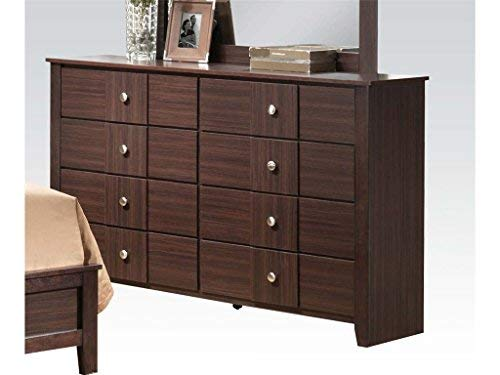 Acme Furniture 21945 Racie Dresser, Merlot