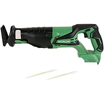 Hitachi CR18DGLP4 18V Cordless Lithium-Ion Reciprocating Saw with Lifetime Tool Warranty (Tool Only, No Battery)