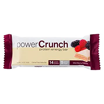 Power Crunch Bar, Wild Berry Cream, 1.4 Ounce