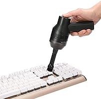 MECO ELEVERDE Mini Aspirateur Sans Fils Rechargeable avec 1 Pcs Magic Gel Nettoyant pour Clavier Keyboard Ordinateur...