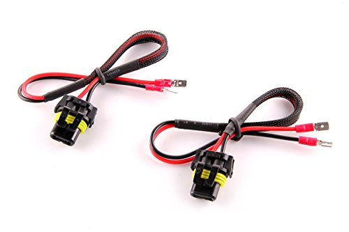 Pair of DDM Tuning H1 / H7 to 9006 Adaptor Cables 1 Year Warranty