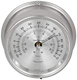 Maximum Weather Instruments Mini-Max Thermometer – Nickel case, Silver dial