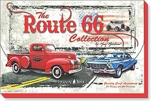 (Route 66 By Greg Giordano Greeting Card Assortment 20 Designs for All Occasions)