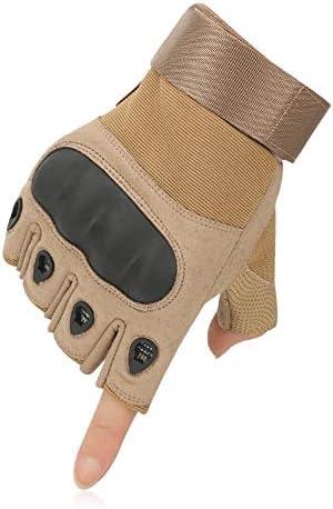 用手袋 ハーフフィンガー バイク用グローブ サイクリング 手袋 保護 プロテクションタイプ 通気性 登山などに適用 アーミー ミリタリー コンバット サバイバルゲーム アウトドア