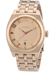 Nixon Mens Monopoly A325897 Rose-Gold Stainless-Steel Quartz Watch with Rose-Gold Dial
