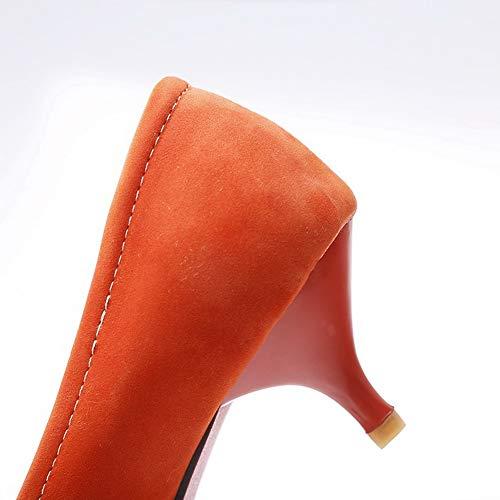 SDC05736 Orange Sandales 36 AdeeSu EU Femme Compensées Orange 5 ZwqAAa