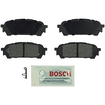 Bosch BE1004 Blue Disc Brake Pad Set for Saab: 2005-06 9-2X; Subaru: 2004-08 Forester, 2003-07 Impreza - REAR